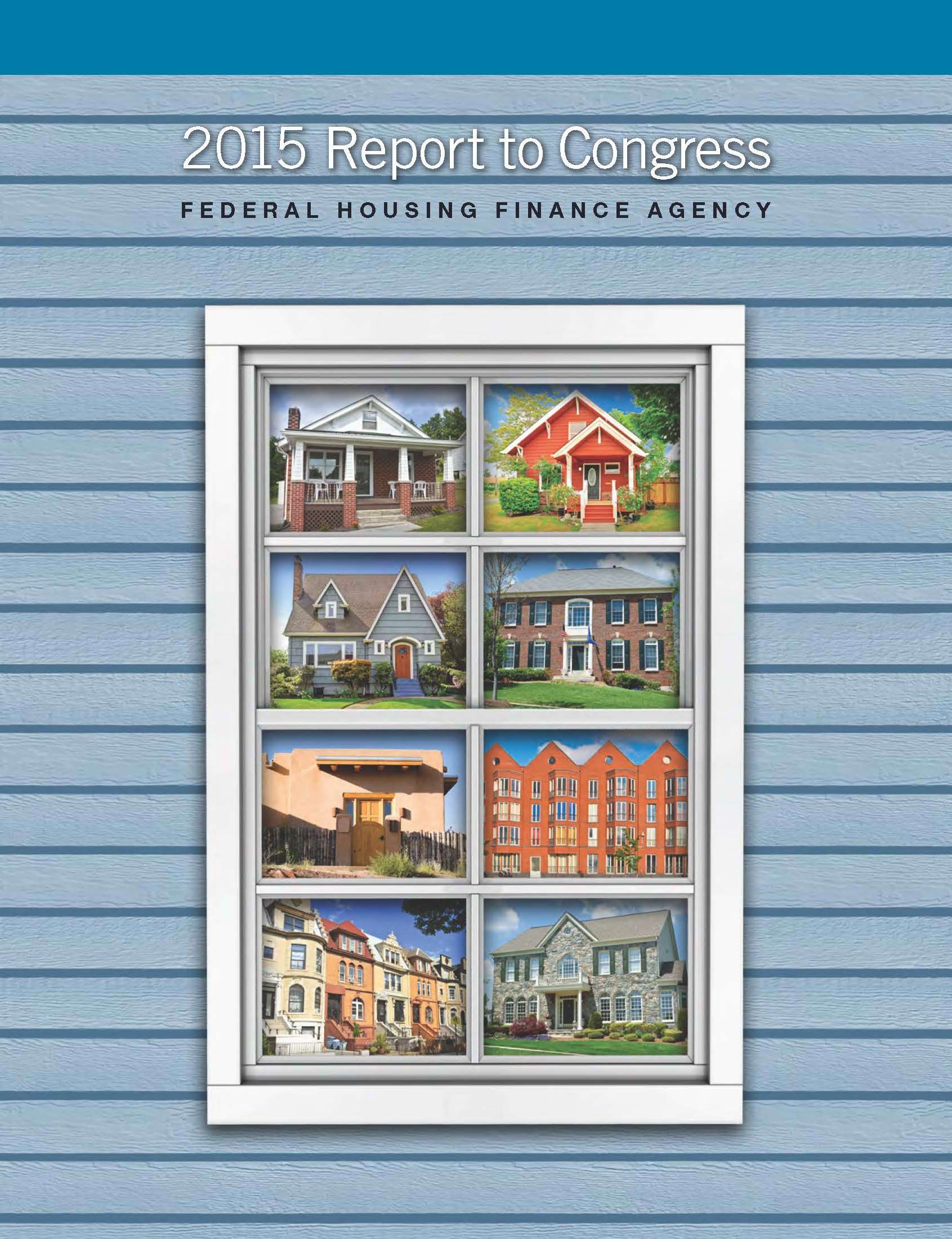 FHFA 2014 REPORT TO CONGRESS