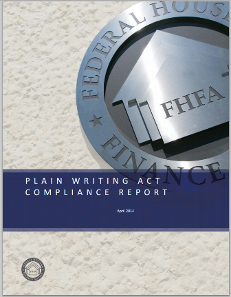 Plain Writing Act Compliance Report Thumbnail