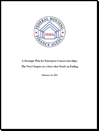 FHFA Conservatorship Strategic Plan cover thumbnail