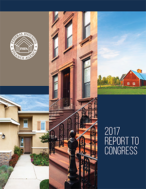 FHFA 2017 REPORT TO CONGRESS