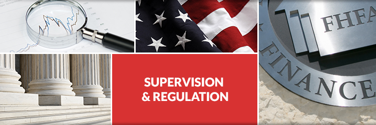 FHFA Super Vision Regulation Header Image
